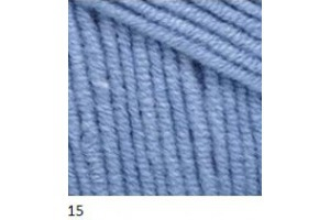 Jeans 15 - svetlo-modrá