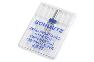 Dvojihla strojová Stretch Schmetz 75/2,5
