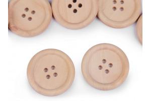 Gombík drevený - Leon - Ø30mm
