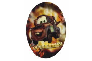 Nažehlovačka  - auto - Cars - I'm the bomb