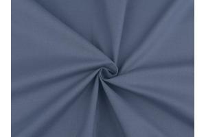 Látka bavlnená - jednofarebná Modrá Jeans