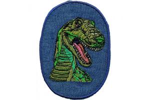 Nažehlovačka - Dinosaurus Zelený