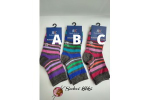 Veselé ponožky - v.31/34 - Prúžkované