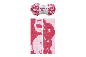 Puffy More 6274 - ružová a cyklámenová