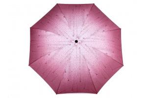 Dáždnik - dámsky, skladací - kvapky