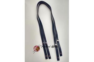 Rúčky na tašky s cvokom - šírka 18mm