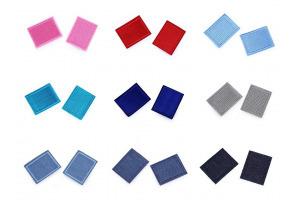 Nažehlovačka - farebný obdĺžnik