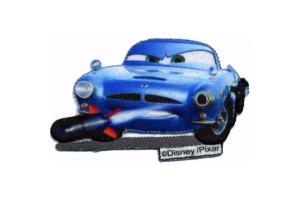 Nažehlovačka  - auto - Cars - Finn McMissile