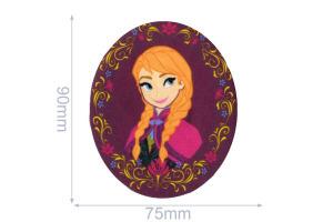 Nažehlovačka - Frozen - Anna s girlandou