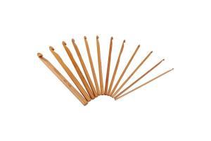 Sada bambusových háčikov  12 kusov