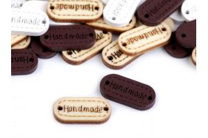 Gombík drevený - Handmade