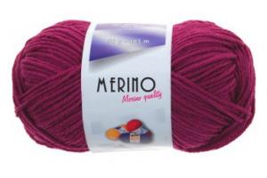 Merino 14802 - cyklámenová