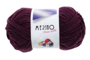 Merino 14800 - tmavofialová