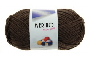 Merino 14782 - tmavohnedá