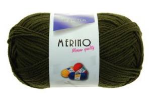 Merino 14745 - vojensky zelená