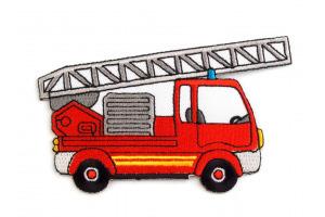 Nažehlovačka - hasičské auto 2