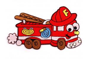 Nažehlovačka - hasičské auto