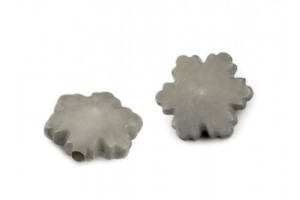 Dekoračná plastová vločka/korálky Ø14mm