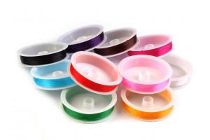 Silónová elastická guma - guľatá Ø0,4-0,6 mm