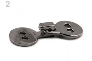 Kovové zapínanie - prateľné