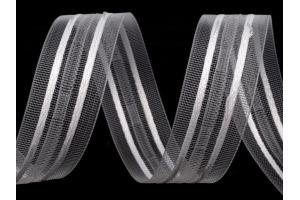 Záclonová stuha šírka 25 mm tužkové riasenie