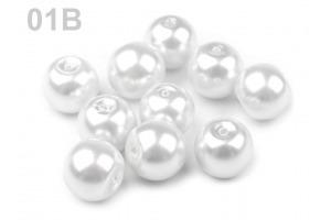 Voskované perly - Ø8 mm - 50g