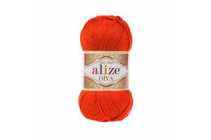 Diva 37 - tmavá oranžová