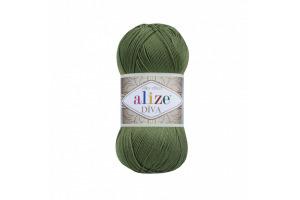 Diva 79 - bazalková zelená