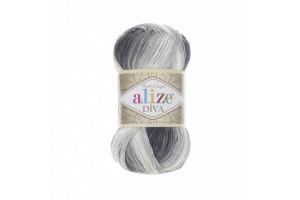 Diva Batik 1900 - bielo-sivo-šedá