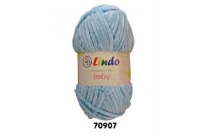 Lindo Baby 70907 - nebeská modrá