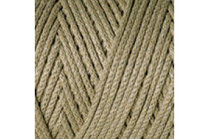 Macrame Cotton 793 - zelenohnedá