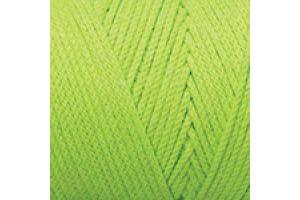 Macrame Cotton 801 - neónovo zelená