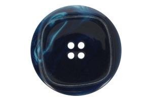 Gombík plastový s motívom štvorca - Ø 38mm