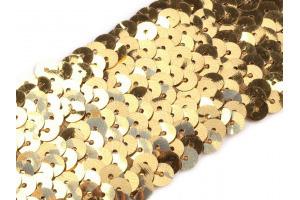 Flitrový prámik 45 mm - zlatý