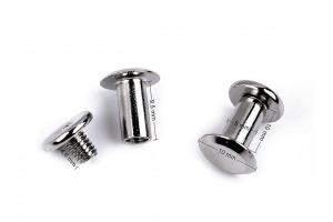 Sedlársky nit skrutkovací Ø10 mm - nikel