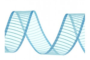 Stuha monofilová šírka 24 mm - modrá