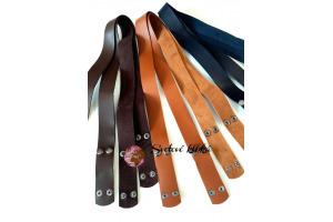 Rúčky na tašky s cvokom - šírka 33 mm