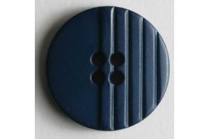 Gombík plastový - Linka - Ø 23 mm - tmavá modrá