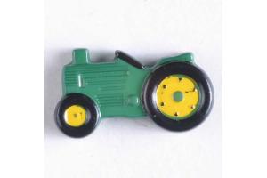 Gombík detský - Traktor - 25 mm