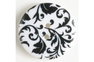Gombík plastový - S potlačou  Ø 25 mm - Rôzne farby