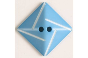 Gombík plastový - Kosoštvorec - Rôzne farby