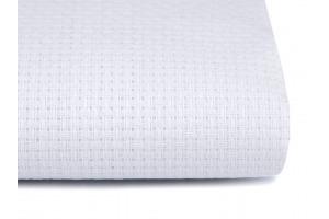 Vyšívacia tkanina Kanava biela - šírka 140 mm