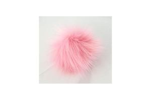 Bobble hat 65 - baby ružová