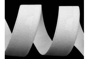 Guma so silikónom 20 mm - Biela
