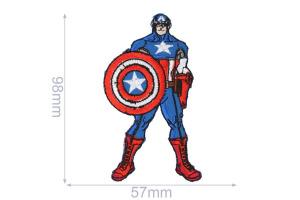 Nažehlovačka - Kapitán Amerika