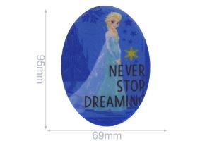 Nažehlovačka - Frozen Elsa - Never stop