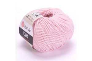 Jeans 18 - svetlo-ružová