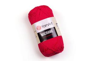 Macrame 163 - červená