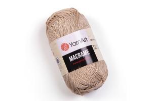 Macrame 166 - režná tmavá