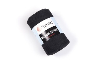 Macrame Cotton 750 - čierna